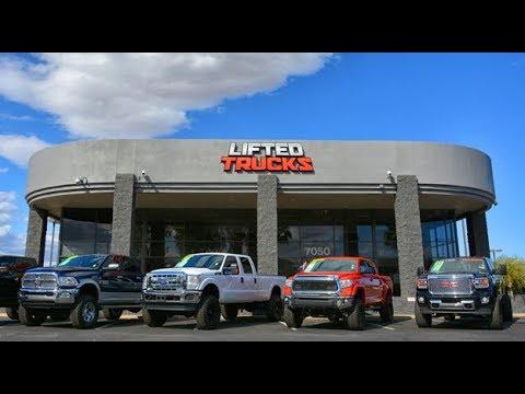 Lifted Trucks west in Glendale, Arizona. Amazing selection of Custom Trucks!
