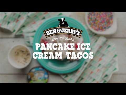 Pancake Ice Cream Tacos | Ben & Jerry's