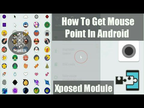 Mouse Pointer In Android Phone