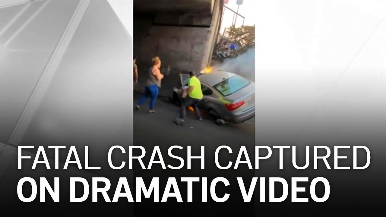 2 Men Die in Fiery Crash Despite Good Samaritan Efforts to Save Them