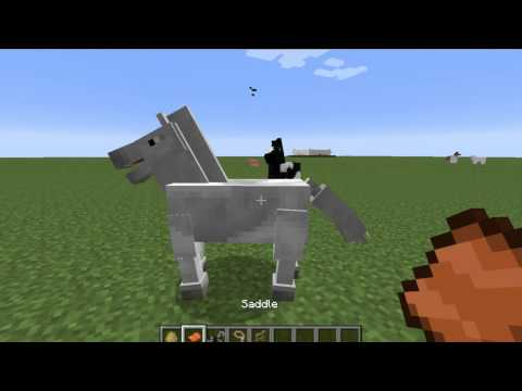 How to Tame a Horse In Minecraft 1.7.2