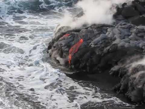 Kilauea Ocean Entry Nov 5 09