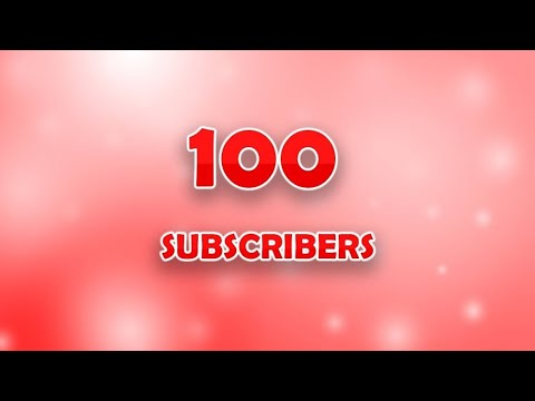 100 SUBSCRBERS CELEBRATION | MrSlimeGuy