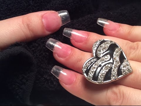 How to Do Clear Acrylic Nails at Home