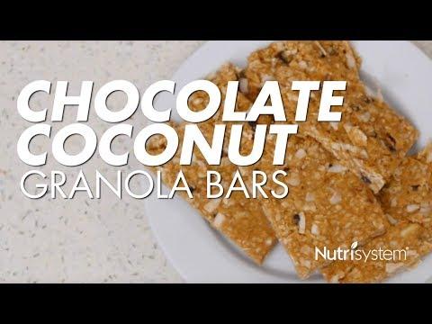 Chocolate Coconut Granola Bar Recipe