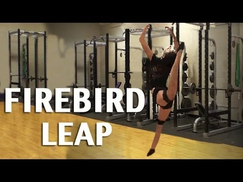 Dance Exercises - How to Improve Your Firebird Leap with Dance Kinetic Bands