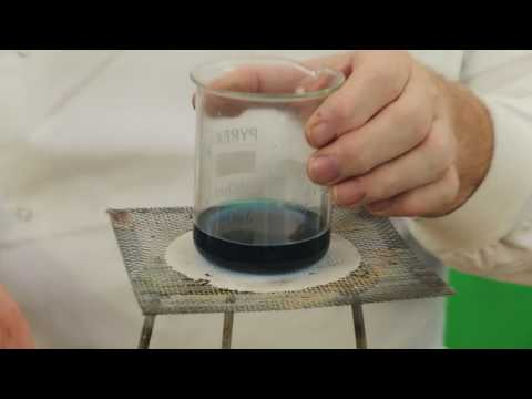 Making a Salt from an Insoluble oxide and acid - Copper Sulfate