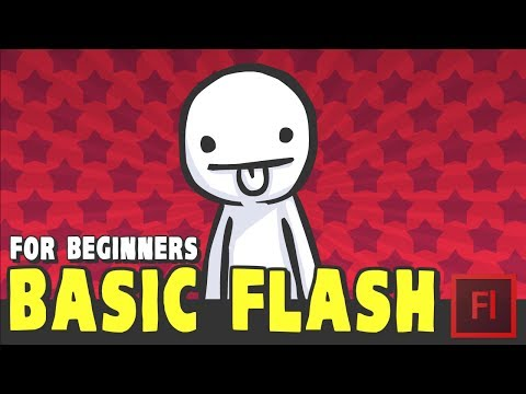 TUTORIAL: Basic Flash for Beginners (Adobe Animate/Flash)
