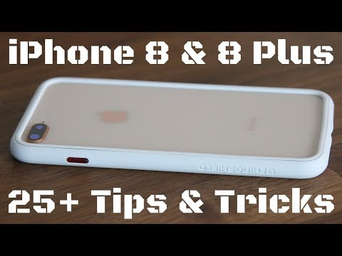 25+ Tips and Tricks for the iPhone 8 / iPhone 8 Plus