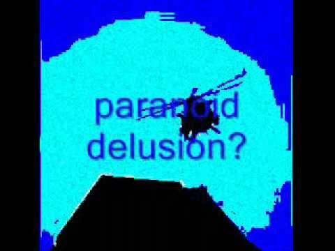 paranoid delusion