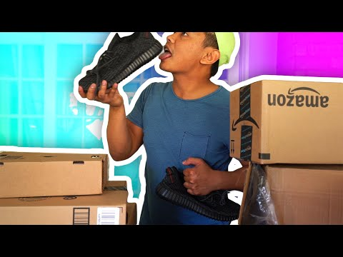 SOMEONE GAVE ME YEEZYS!?!   Opening Your Mail