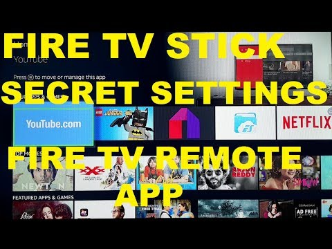 Fire TV Stick Secret Settings, Remote App, Restore, Uninstall, Update, Cache and Troubleshooting