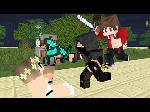 Sad story john boy love flower girl  Part End - Minecraft Animation