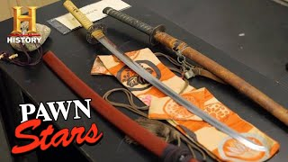 Pawn Stars: TOP BLADES OF ALL TIME (34 Rare Swords, Spears, and Daggers) | History