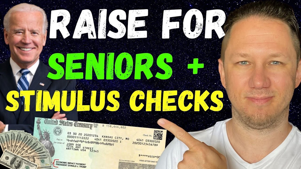 WOW! SOCIAL SECURITY RAISE + Fourth Stimulus Check Update Today 2021 & Daily News!