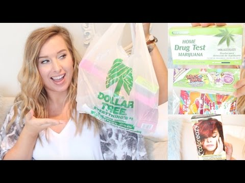 TESTING DOLLAR TREE PRODUCTS! HAIR DYE, DRUG TESTS?!, & MORE!