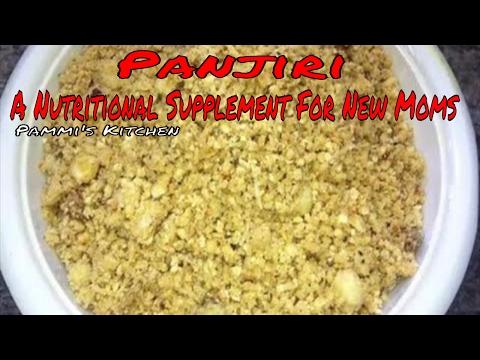 Panjiri Recipe - How To Make Panjiri - Traditional  Nutritional Supplement For New Moms