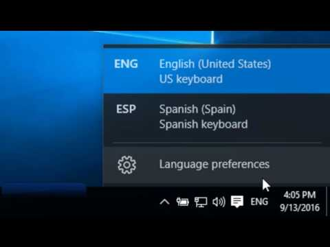 Type Accents with a Spanish Keyboard in Windows 10