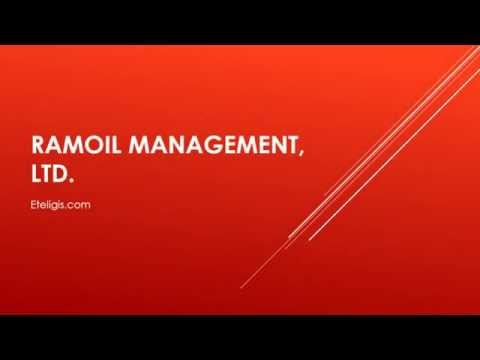 RAMOIL MANAGEMENT, LTD. (OTC: RAMO) Announces a Signed Agreement With
