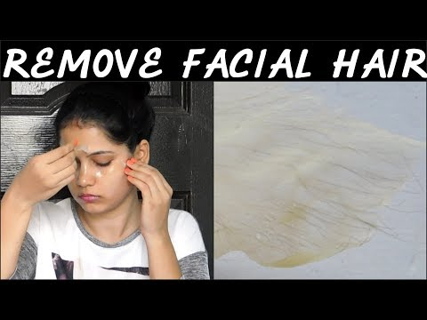 Remove Facial Hair PERMANENTLY At Home/Remove Facial Hair Instantly At Home||TipsToTop By Shalini