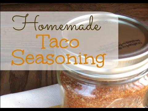 How to Make Homemade Taco Seasoning