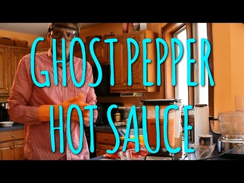 How To Make Ghost Pepper Hot Sauce (Two Ways)