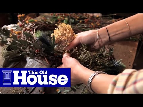 How to Make a Grapevine Wreath - This Old House