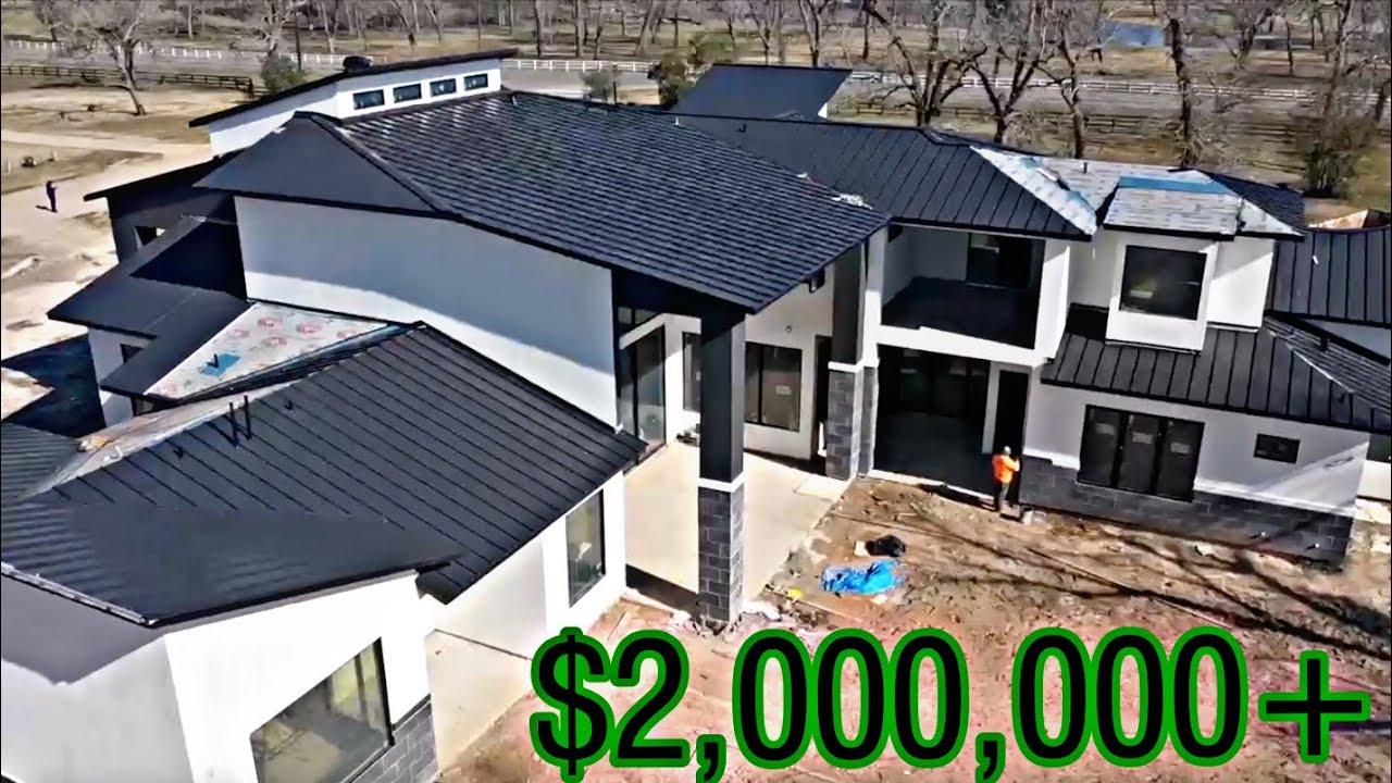 Building a $2,000,000 dollar house