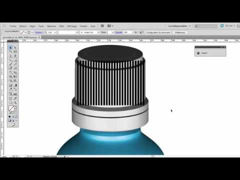 How to Creat 3D bottle in illustrator  YouTube