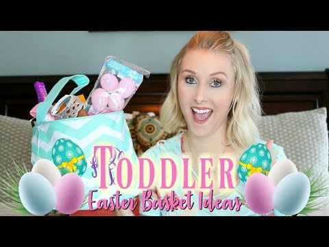 What I Got My Toddler For Easter/Easter Basket Ideas 2018/Gift Ideas For Toddlers
