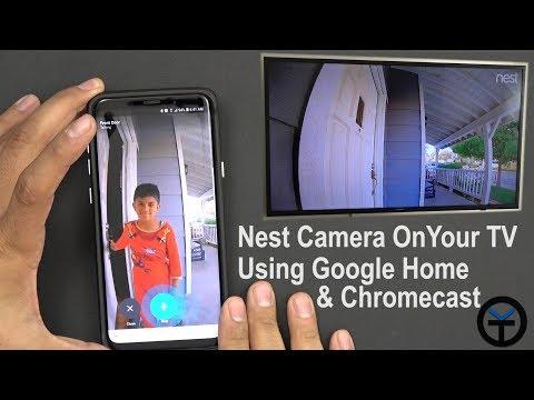 How to Integrate, Control Nest Hello Using Google home ( Mini & Max)  Chromecast With Voice #Verizon