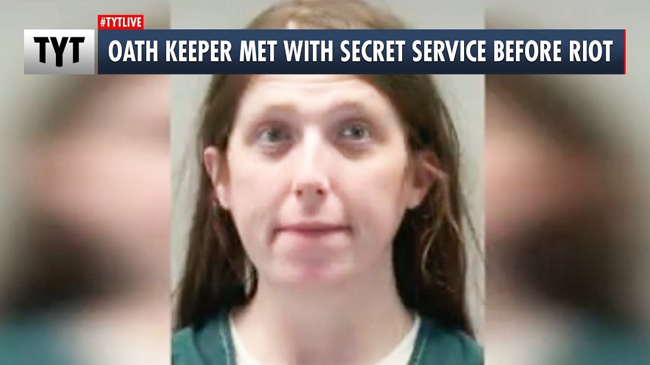 """This """"Oath Keeper"""" Says She Met with Secret Service BEFORE The Capitol Riot"""