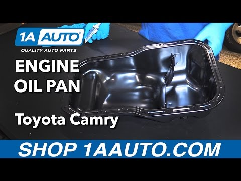 How to Replace Engine Oil Pan 92-01 Toyota Camry
