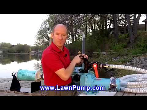 Pump It! Watering From A Pond or Lake