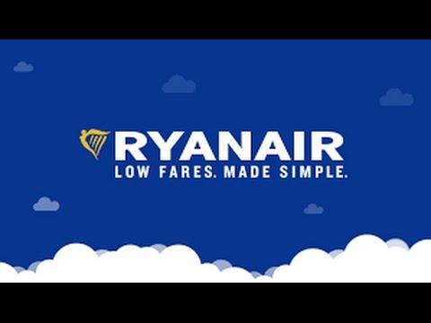 RYANAIR FLIGHT FOR EUROPE - RYANAIR LOW FARES - LOW COST FLIGHT IN EUROPE -