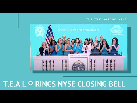 NYSE Closing Bell 7-5-17 Tell Every Amazing Lady®