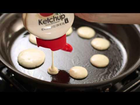 Ketchup Bottle Pancake Mix
