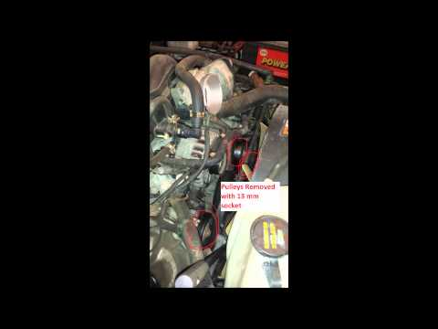 2002 chevy s10 blazer engine clean but whining sound - Car Engine