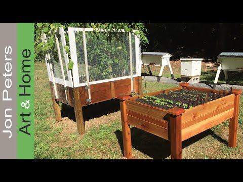 Unbox & Assemble an Elevated Garden Bed – Plant a Fall Garden