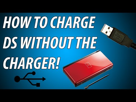 HOW TO CHARGE DS, DSi + 3DS WITHOUT THE ORIGINAL CHARGER!