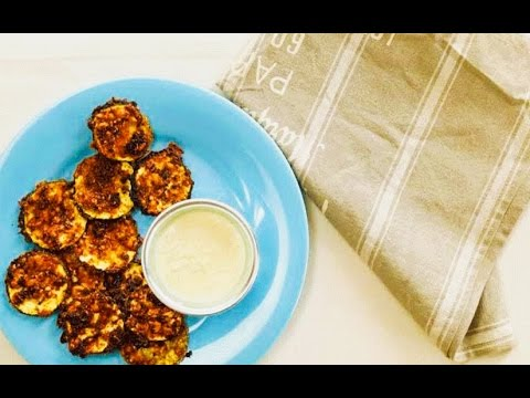 Healthy Baked Zucchini Chips