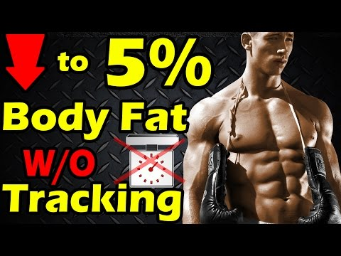 How to Get to 6% Body Fat Without Counting Calories & Macros ➠ Lean & Shredded no Tracking 5% 7 8 10