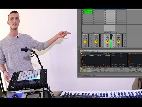 Ableton Live Tutorial: Create a Kick Drum from Silence with Live 9.5's new Filters