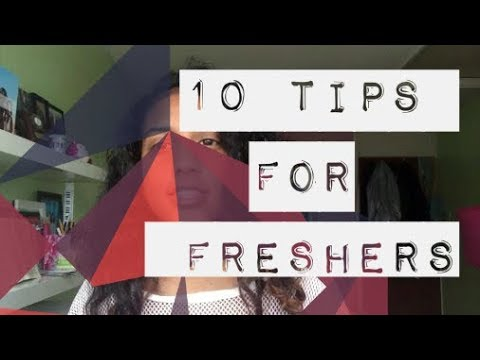 UNI: My Top 10 Tips for Freshers