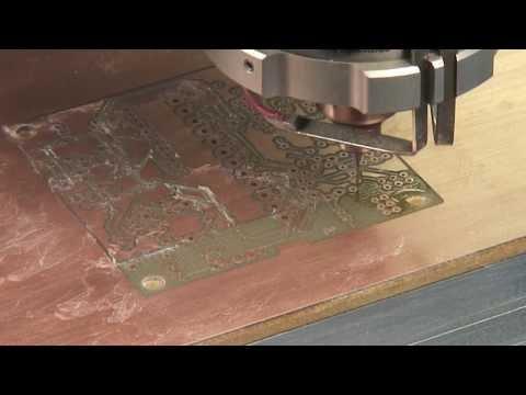 DATRON Composite Milling - CFK, GFK,CRP, GRP, FR4, G10, PCB Material etc
