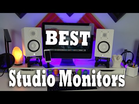 Best Studio Monitor Speakers! Yamaha HS5 Review