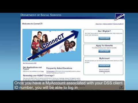 Renewing DSS Benefits Online