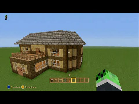 Minecraft: How To Build Easy Survival House Tutorial