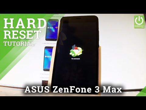 Hard Reset ASUS ZenFone 3 Max - Bypass Password / Format Data