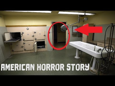 HIDING FROM GUARDS - Abandoned 1920s California Asylum | AHS Real Life !
